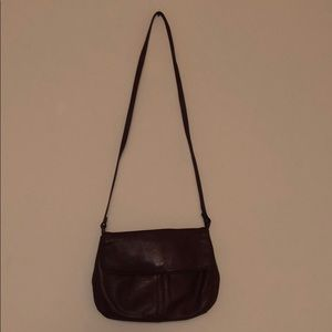 Wilsons suede genuine leather purse